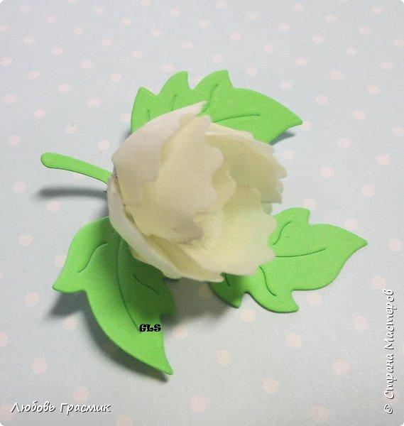 Идея с сайта http://artimeno.blogspot.ru/2013/07/diy-17-kwiat-z-tasmy-washi.html Так понравилось, что захотелось сразу попробовать. Использовать бумажный скотч не рискнула, мало его у меня :). Тренировалась на малярном. Эффект получился потрясающий,  поэтому делюсь. фото 5