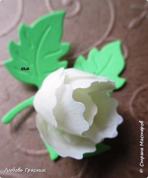 Идея с сайта http://artimeno.blogspot.ru/2013/07/diy-17-kwiat-z-tasmy-washi.html Так понравилось, что захотелось сразу попробовать. Использовать бумажный скотч не рискнула, мало его у меня :). Тренировалась на малярном. Эффект получился потрясающий,  поэтому делюсь. фото 8