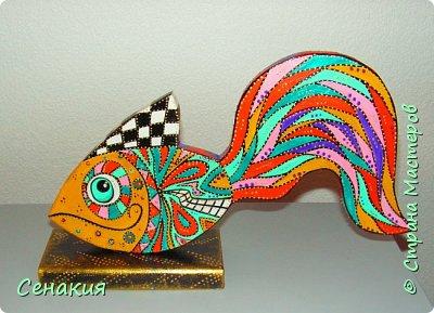 Интерьерная рыбка фото 1