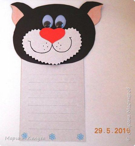 """Добрый день! Моя первая открытка- """"Кот в мешке"""" по МК Ольги Краевой. фото 6"""