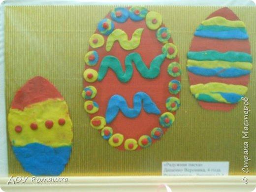 Наша мини-выставка пасхальных поделок. фото 3