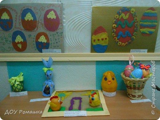 Наша мини-выставка пасхальных поделок. фото 2