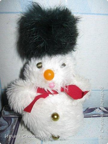 Этот весёлый снеговик был сделан накнуне Нового года. Ребятам моим он тоже понравился. И вот что у нас получилось... фото 5