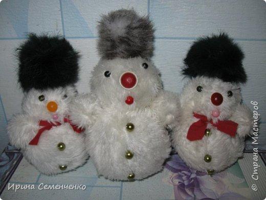 Этот весёлый снеговик был сделан накнуне Нового года. Ребятам моим он тоже понравился. И вот что у нас получилось... фото 8