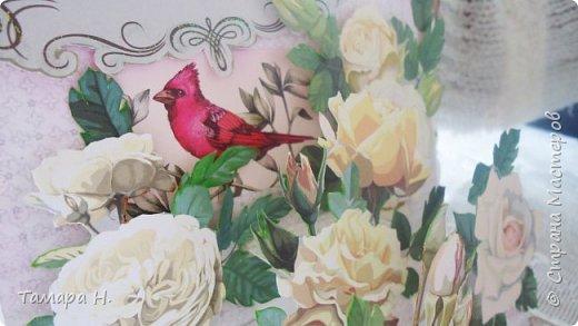"""Открытка """"Цветущий сад"""" фото 3"""