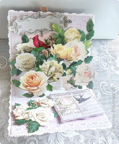 """Открытка """"Цветущий сад"""" фото 1"""