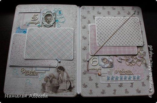 Фотоальбом для девочки. Бумага Maja design. фото 12