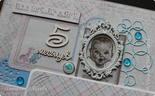 Фотоальбом для девочки. Бумага Maja design. фото 13