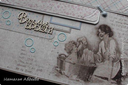 Фотоальбом для девочки. Бумага Maja design. фото 14