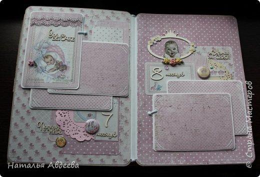 Фотоальбом для девочки. Бумага Maja design. фото 17
