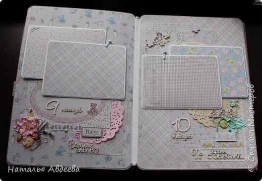Фотоальбом для девочки. Бумага Maja design. фото 22