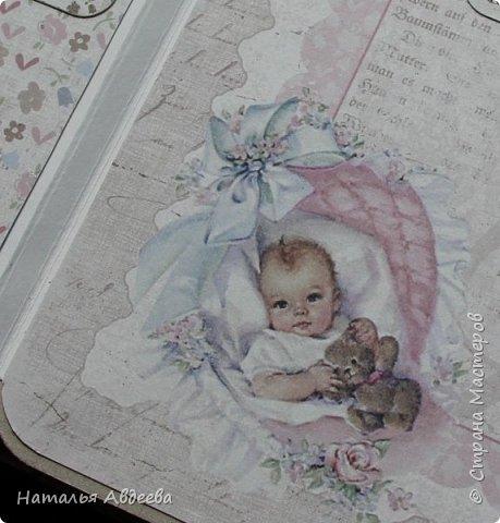 Фотоальбом для девочки. Бумага Maja design. фото 5