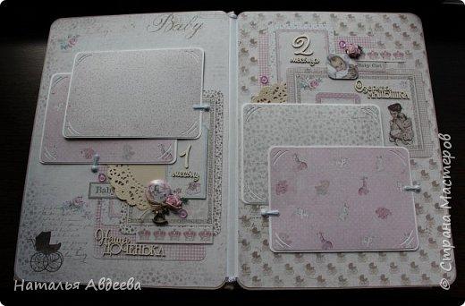 Фотоальбом для девочки. Бумага Maja design. фото 6