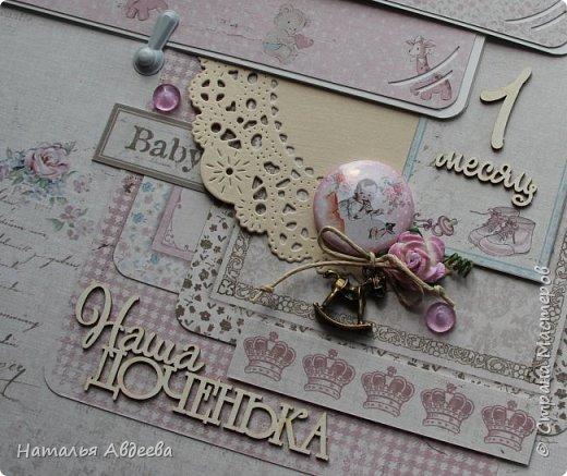 Фотоальбом для девочки. Бумага Maja design. фото 8