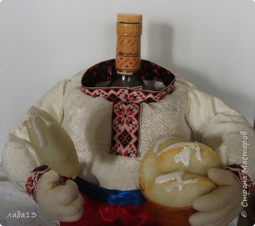 Очень давно хотела сделать мини бар по мк Ю.Лазаревой,наконец то сделала. фото 3