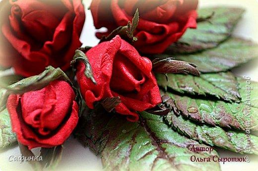 """Доброе время суток, мои дорогие! И снова с вами , я Ольга Сыротюк. Сегодня представляю вашему вниманию очаровательную композицию роз """"Марго"""" для  вдохновения! Создано под заказ. Крепление: ободок. Материал : Фоамиран Иран.  фото 1"""