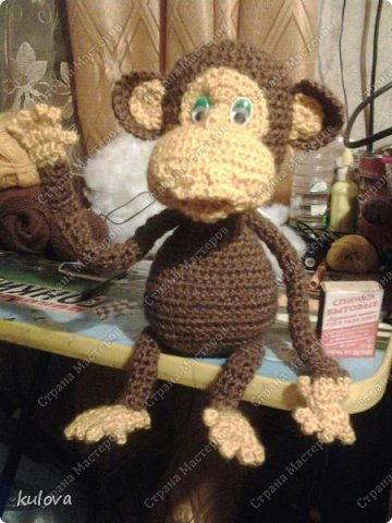 обезьянка из дисков фото 2
