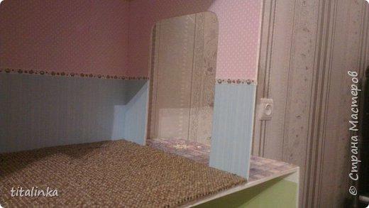 Здесь моим вдохновителем стала Julicat http://stranamasterov.ru/user/290607 Сначала захотела сделать такой же домик, как у неё. Потом захотелось больше, больше, больше!... Теперь снова хочу сделать и маленький домик ))) фото 6