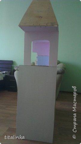 Здесь моим вдохновителем стала Julicat http://stranamasterov.ru/user/290607 Сначала захотела сделать такой же домик, как у неё. Потом захотелось больше, больше, больше!... Теперь снова хочу сделать и маленький домик ))) фото 4