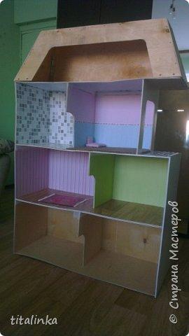 Здесь моим вдохновителем стала Julicat http://stranamasterov.ru/user/290607 Сначала захотела сделать такой же домик, как у неё. Потом захотелось больше, больше, больше!... Теперь снова хочу сделать и маленький домик ))) фото 3