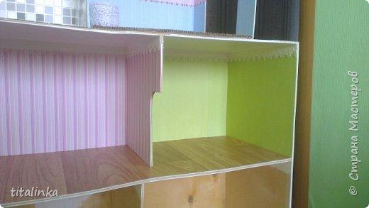 Здесь моим вдохновителем стала Julicat http://stranamasterov.ru/user/290607 Сначала захотела сделать такой же домик, как у неё. Потом захотелось больше, больше, больше!... Теперь снова хочу сделать и маленький домик ))) фото 13