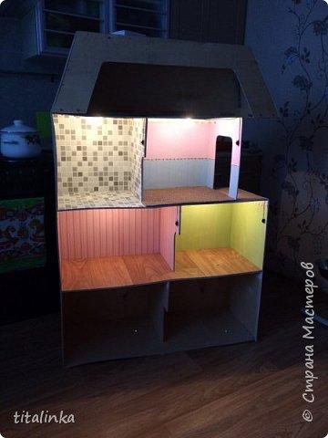Здесь моим вдохновителем стала Julicat http://stranamasterov.ru/user/290607 Сначала захотела сделать такой же домик, как у неё. Потом захотелось больше, больше, больше!... Теперь снова хочу сделать и маленький домик ))) фото 18