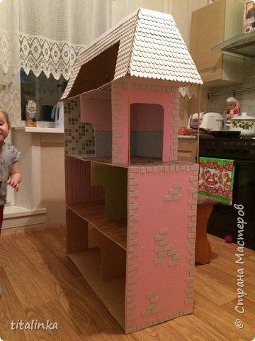 Здесь моим вдохновителем стала Julicat http://stranamasterov.ru/user/290607 Сначала захотела сделать такой же домик, как у неё. Потом захотелось больше, больше, больше!... Теперь снова хочу сделать и маленький домик ))) фото 17