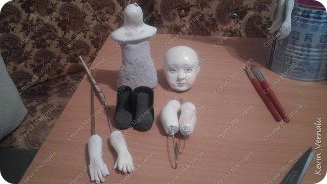 Кукла создана с большими усилиями...По мотивам кукол Долькирадуги,она же Машери,она же Кира Сашина,и Кира Кинаш.Теперь и у меня дома живет эта радость...Буду стремиться создавать еще больше такой красоты:-).Не скромно.... фото 3