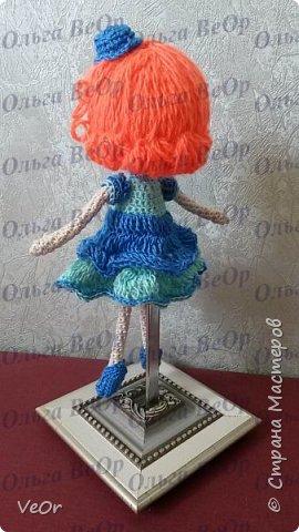 Лалалупси делала на заказ. Попросили рыжие волосы и каре. Когда завершила куколку, поняла, что ей просто необходима шляпка )) фото 3
