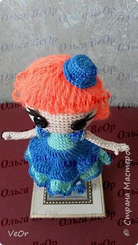 Лалалупси делала на заказ. Попросили рыжие волосы и каре. Когда завершила куколку, поняла, что ей просто необходима шляпка )) фото 1