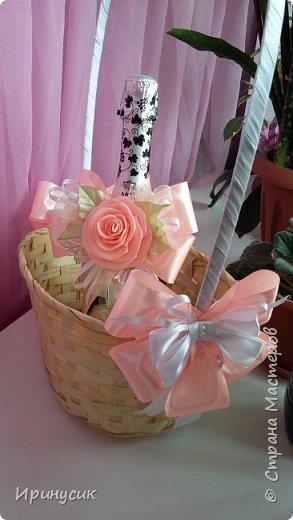 Декор корзины с экзотическими фруктами  для подарка на день рождения))) фото 4
