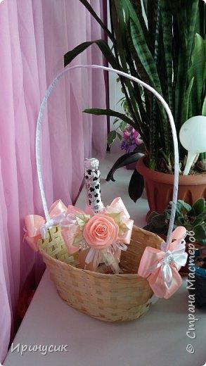 Декор корзины с экзотическими фруктами  для подарка на день рождения))) фото 3