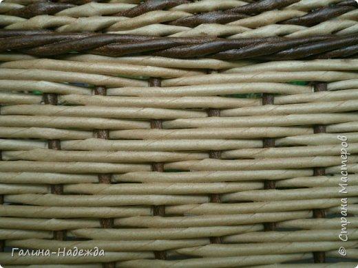 Добрый день дорогие жители СМ!!!! Хочу показать свои новые работы. Как только мне подарили овальное ведро как основу для плетения, мои работы теперь пока вот такой формы и она мне очень нравится. фото 23