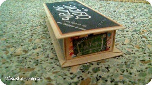 """Шоколадная коробочка """"Спасибо учитель"""" фото 11"""