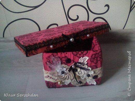 Всем привет.  Вот такие коробочки я сделала из бросового материала для прихожей.  Теперь, все по порядку... фото 13