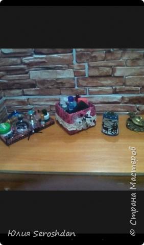 Всем привет.  Вот такие коробочки я сделала из бросового материала для прихожей.  Теперь, все по порядку... фото 14