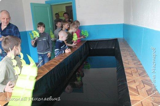 Опытные испытания плавающих моделей. фото 7