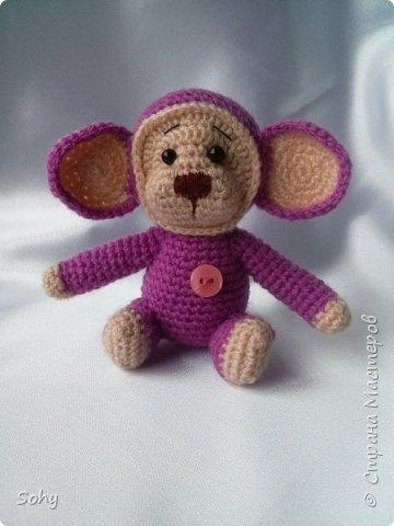 вязаные обезьянки фото 4
