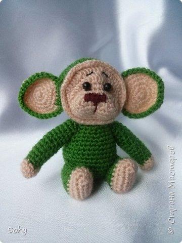 вязаные обезьянки фото 5