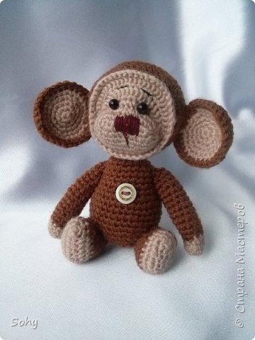 вязаные обезьянки фото 6