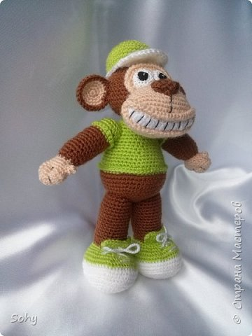 вязаные обезьянки фото 1