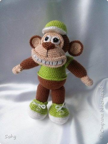 вязаные обезьянки фото 2