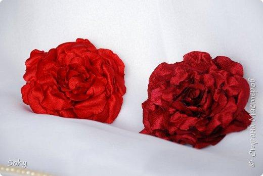 цветы из ткани фото 16