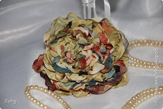 цветы из ткани фото 14
