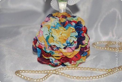 цветы из ткани фото 12