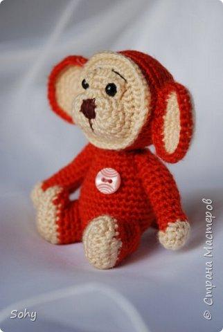 вязаные обезьянки фото 7