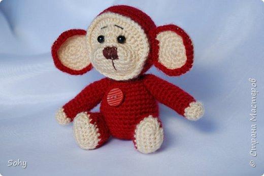 вязаные обезьянки фото 8