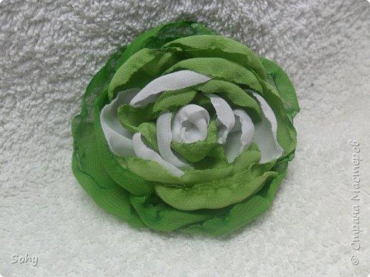 цветы из ткани фото 5
