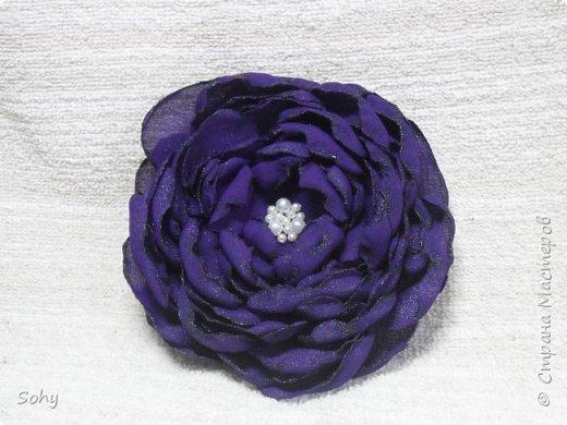 цветы из ткани фото 3