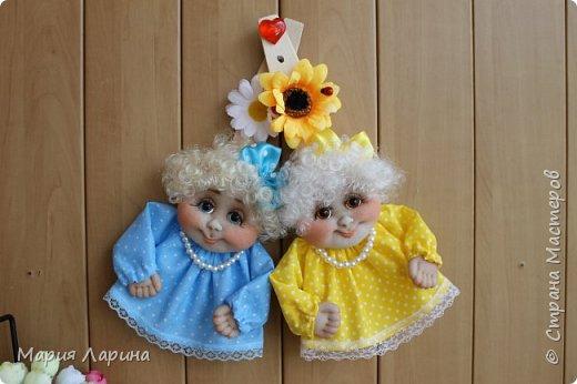Вот такие девочки - обережки у меня на днях получились ))) фото 13